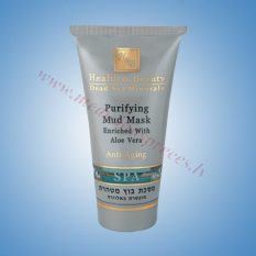 H&B Purifying Mud Mask with Aloe Vera for face, 150ml.