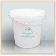 YOFI Dead Sea Salt ar lavandu, 1200 gr.