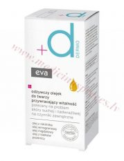Eva Dermo vitalitāti atjaunojoša eļļa sejas ādai, 30 ml.