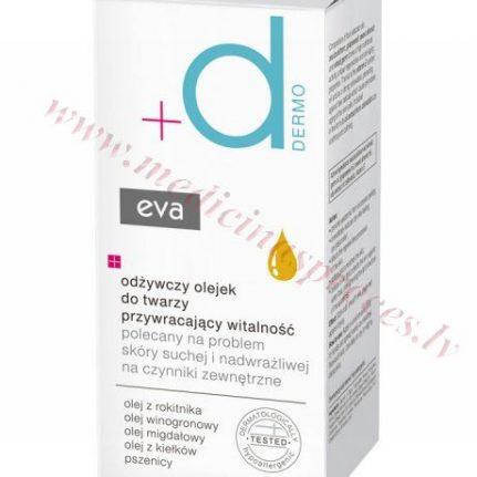 Eva Dermo vitalitāti atjaunojoša eļļa sejas ādai, 30ml.