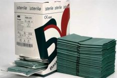 Pārklājs 38×45 cm, sterils.