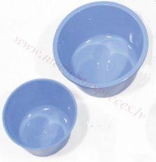 Plastmasas bļodiņa (zila) 500 ml.