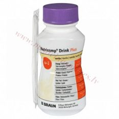 NUTRICOMP Drink Plus Vanille, 200 ml.
