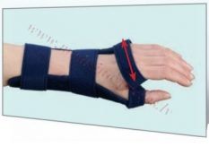 Plaukstas locītavas ortoze-Basic, labā roka, M izmērs.
