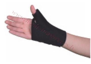 Īkšķa-plaukstas locītavas ortoze, S izmērs, melna.