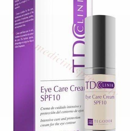 TEGODER Eye Care Cream SPF10, 20 ml.