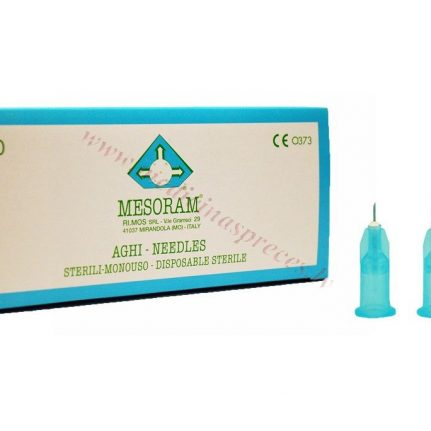 Mezoterapijas adata MESORAM 27G, Ø 0.4x4mm, sterila.