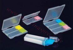 Priekšmetstiklu konteiners (ABS) 1 stiklam.