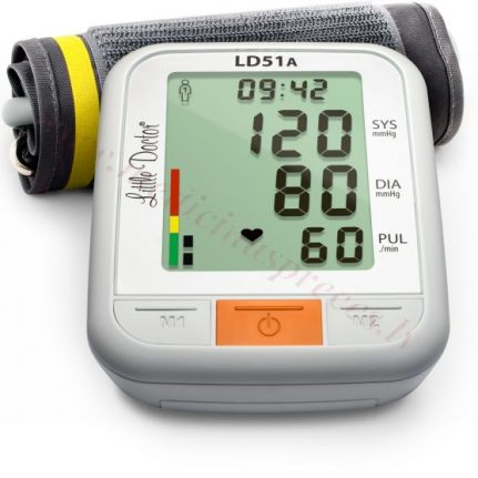 Tonometrs LD51A automātiskais ar 25-36 cm manžeti.