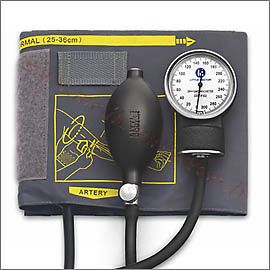 Tonometrs LD-70NR mehāniskais ar 25-40cm manžeti.