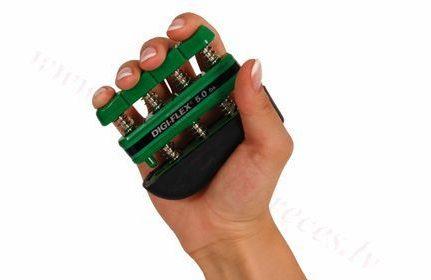 Espanders, zaļš-stipra 2.3-7.3 kg pretestība.
