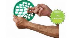 Vingrošanas riņķis ar sietu, zaļš-stipra pretestība.