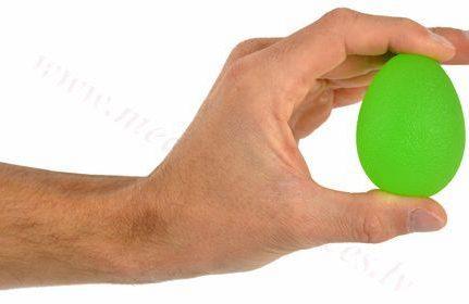 Masāžas gēla ola, zaļa-vidējas pretestības.