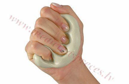 Terapeitiskais plastilīns, gaiši brūns-īpaši vieglas pretestības, 85 gr.