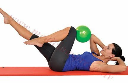 Bumba Mambo Pilates 18 cm, zaļa, MSD.