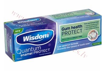 Zobu pasta Wisdom Gum Health Protect 75 ml.