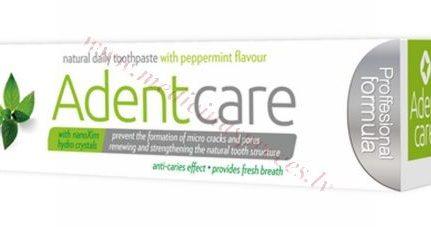 Zobu pasta AdentCare Peppermint 75 ml.