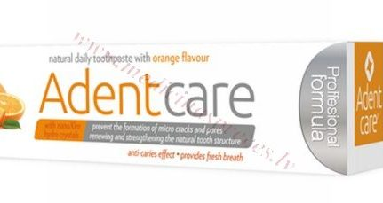 Zobu pasta AdentCare Orange 75 ml.