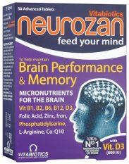 Neurozan, 30 tabletes.