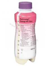 NUTRICOMP Energy HP Fibre, PE pudele 500 ml.