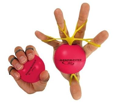 Handmaster plus bumbiņa, sarkana.