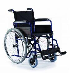 Standarta riteņkrēsls ar dubultu rāmi.