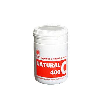 Natural C 400, 30 kapsulas.