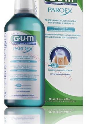 GUM Paroex Daily Prevention mutes skalojamais, 500ml.