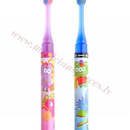 GUM soft zobu birste bērniem ar gaismas taimeri.