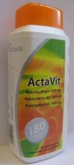ActaVit Naktssveces eļļa 1000 mg, 180 kapsulas.