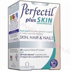 Perfectil Plus Skin, 28 tabletes un 28 kapsulas.