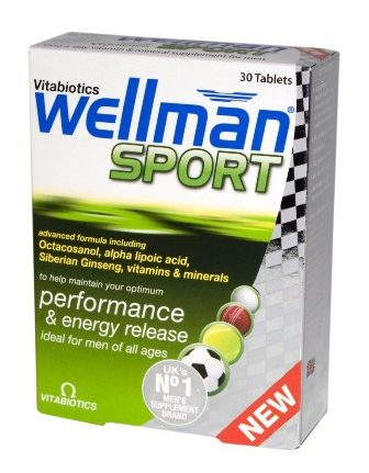 Wellman Sport, 30 tabletes.