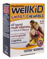 WellKid, 30 košļājamās tabletes.