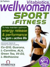 Wellwoman Sport and Fitness, 30 tabletes.