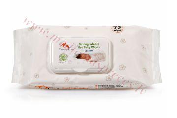 Mitrās salvetes Mommy Care EKO N72.