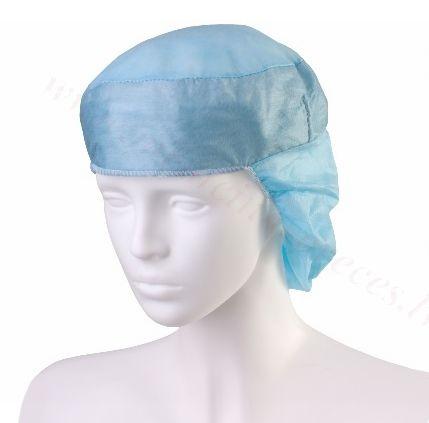 Cepure ar sviedru uzsūcošu joslu DORA, (zila), nesterila. Iepakojumā 50 gab.