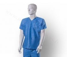 1x lietojams operāciju krekls izmērs S