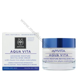 Apivita Aqua vita_moisture revitalizing cream normsal dray skin_OK035440