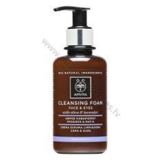 Apivita cleansing foam_olive_OK036232